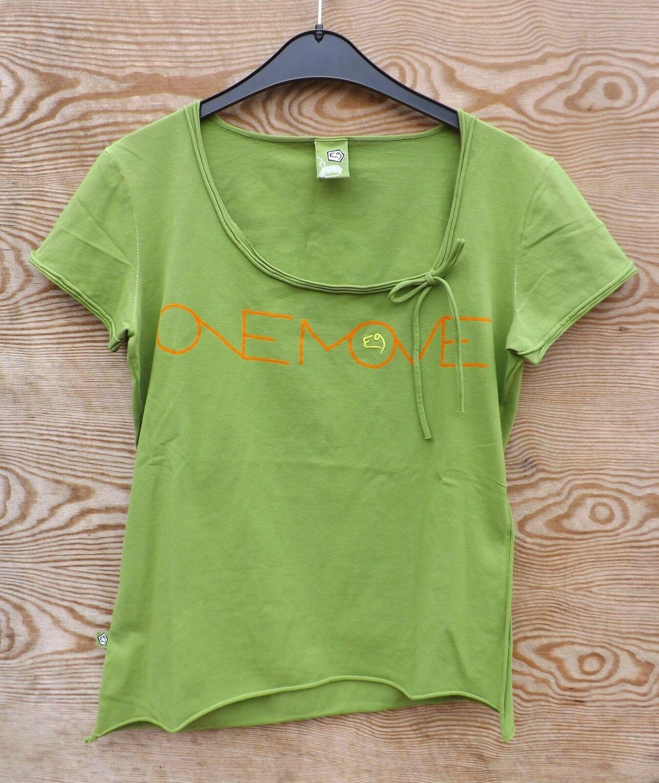 E9 Start, T-Shirt for Ladies, Size L, Apple