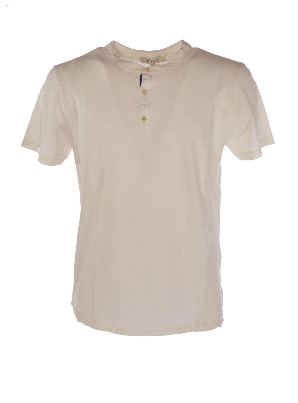 Diktat - Topwear-T-shirts -  Herren - Bianco - 3448002F184114