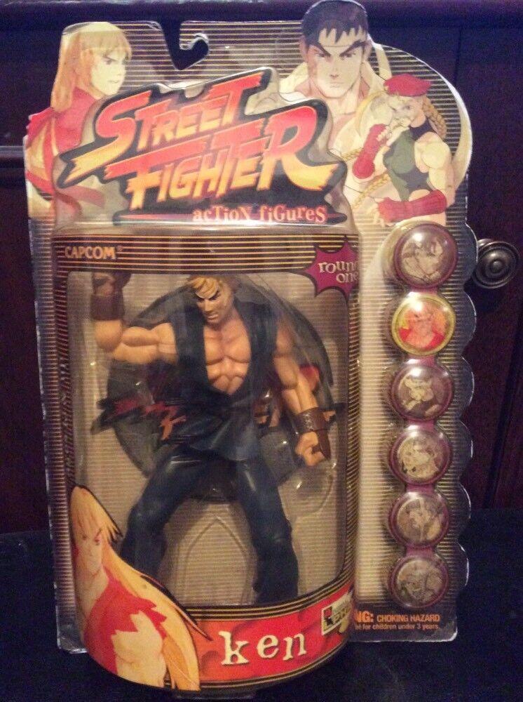 1999 rare capcom street fighter ken Blau suited
