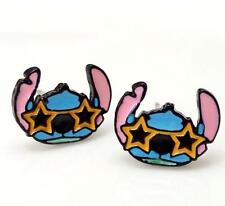 Disney Lilo&stitch star eye metal earring ear stud earrings studs unisex earring