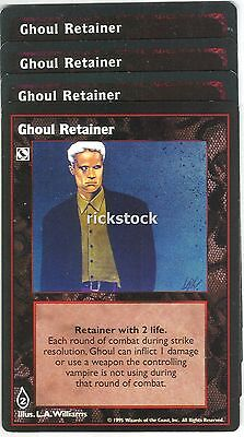 Ghoul Retainer x4 CE Jyhad Lot A