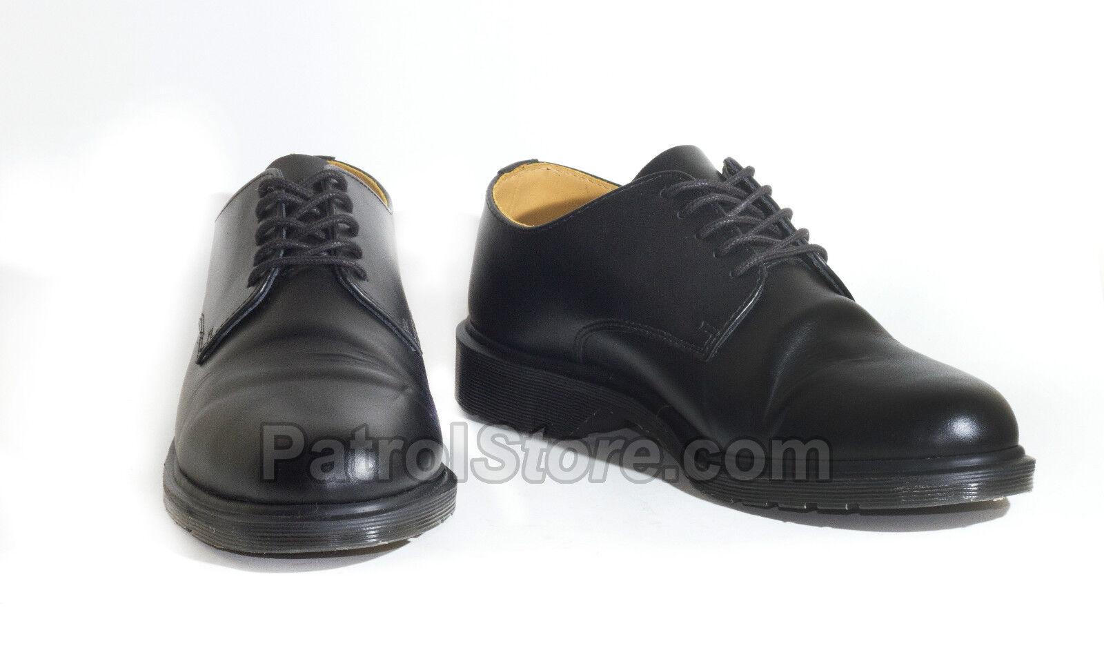 Genuine Dr Martens desfile Zapato policía Ejército Seguridad deber prisión cadete trabajo