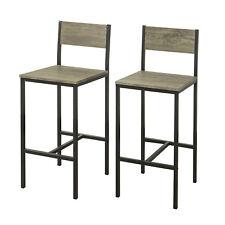 Amazing Sobuy Set Of 2 Kitchen Breakfast Bar Stools High Back Dining Creativecarmelina Interior Chair Design Creativecarmelinacom