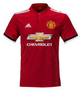 3c87c55a9 Adidas 17-18 Manchester United Home Jersey (BS1214) Man Utd Team ...