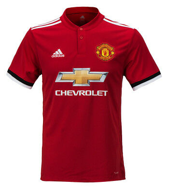Adidas 17-18 Manchester United Home Jersey (BS1214) Man ...