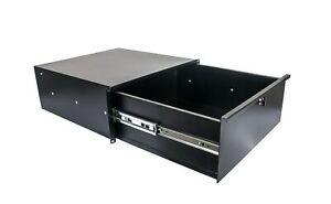 Osp 4 Espace - 4u Deep Metal Rack Gear Case Acier Tiroir (hyc-4ud)-afficher Le Titre D'origine