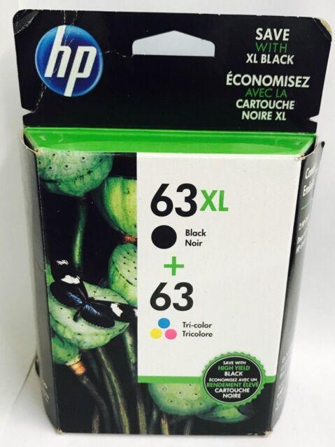 HP Genuine 63XL/63 B/C Ink Cartridges For Deskjet 1110 1111 1112 2130 2131 2132