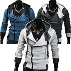 PJ Korean Style Men's Cool Gift Slim Fit Hooded Jackets Coats Hoodies S~XL