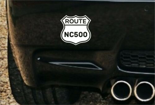 Route NC500 côte nord 500 Autocollant Decal v2