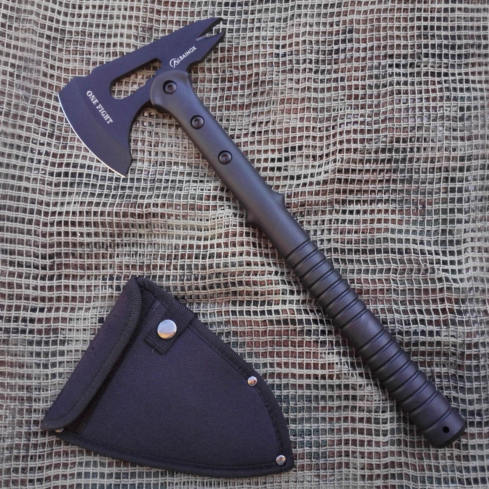 HACHA TACTICA ALBAINOX ONE SUPERVIVENCIA FIGHT HATCHET ASCIA HACHE SUPERVIVENCIA ONE 064598