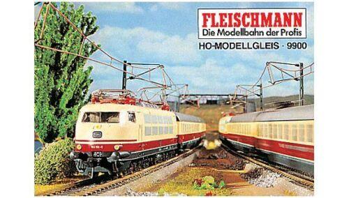 Fleischmann 9900 binario piano QUADERNO h0