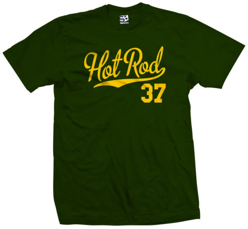Hot Rod 37 Script T-Shirt 1937 Custom Pickup Coupe Rat Race Car All Colors