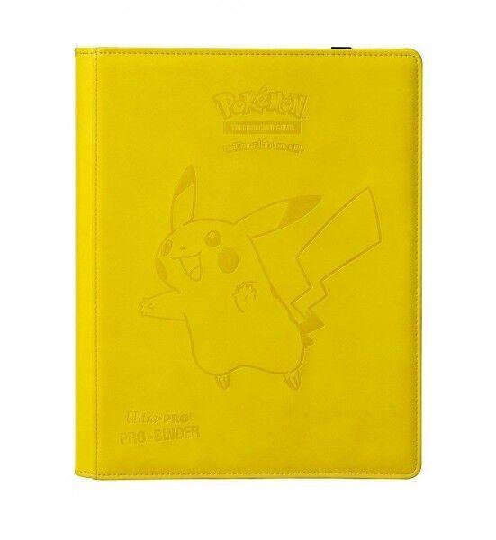 Album pokemon ultra pro binder premium leder portfolio pikachu 360 karten