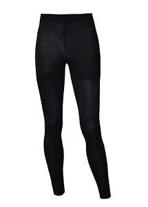 bf88ee6d8e83f9 Das Bild wird geladen schwarze-Damen-Leggings-schwarz-besonders-blickdicht- Leggings-Leggins