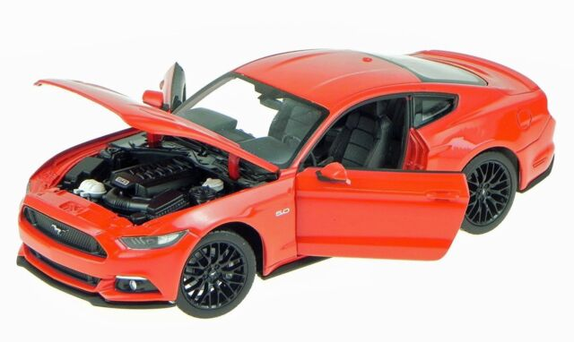 Welly 2015 Ford Mustang GT  24062 R Red 1:24  New