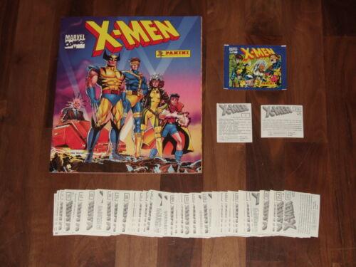 X-Men 1994 Marvel Panini Complete Set-near-Empty Album, Loose & Complete 216 Set