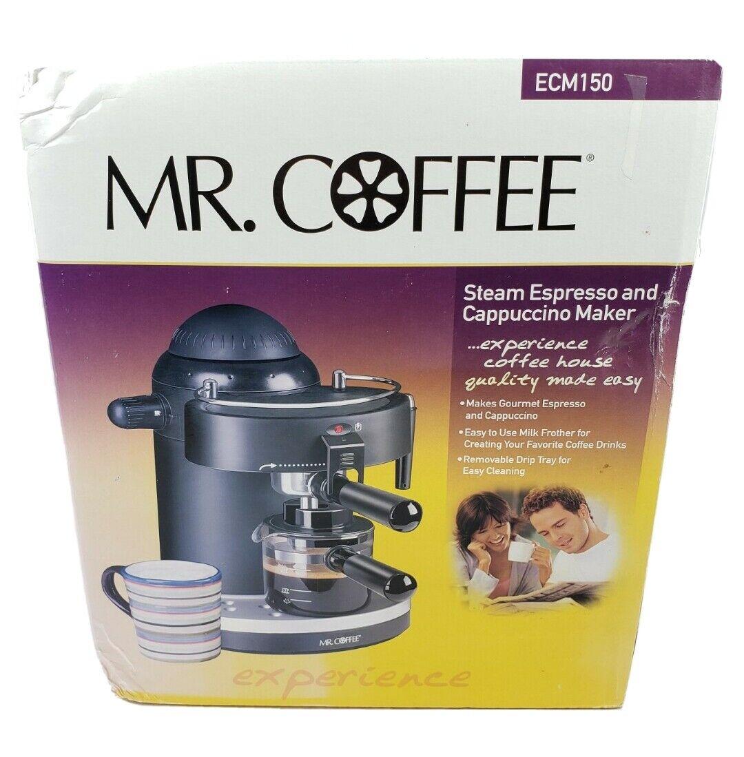 Mr Coffee Espresso And Cappuccino Coffee Maker ECM150