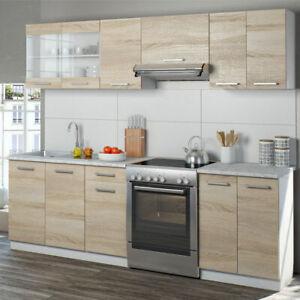 Vicco Raul cucina blocco cucina Cucina individuale 240 cm senza elettrodomestici