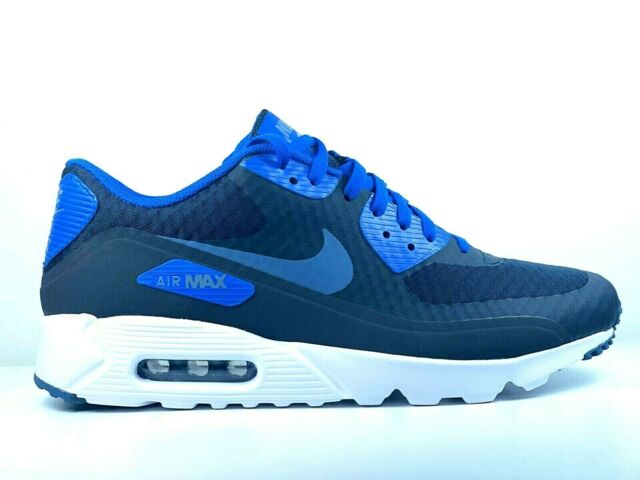 Nike Air Max 90 Ultra Moire Mens 819477 010 Black Leather