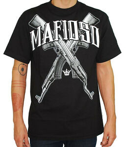 Image Is Loading MAFIOSO CLOTHING AK 47 MACHINE MOB GANGSTER GUN
