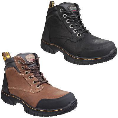 Dr Martens Benham Safety Boots Mens Lightweight Hiker Steel Toe Cap Work Shoes