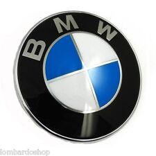 STEMMA BMW COFANO 82 MM LOGO EMBLEMA FREGIO BADGE 3M 82MM PORTELLONE
