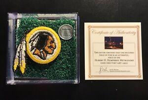 Washington-Redskins-Patch-amp-Game-Used-Superbowl-XXVI-26-Astro-Turf-Rare