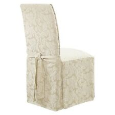 Long Dining Room Chair Slipcovers