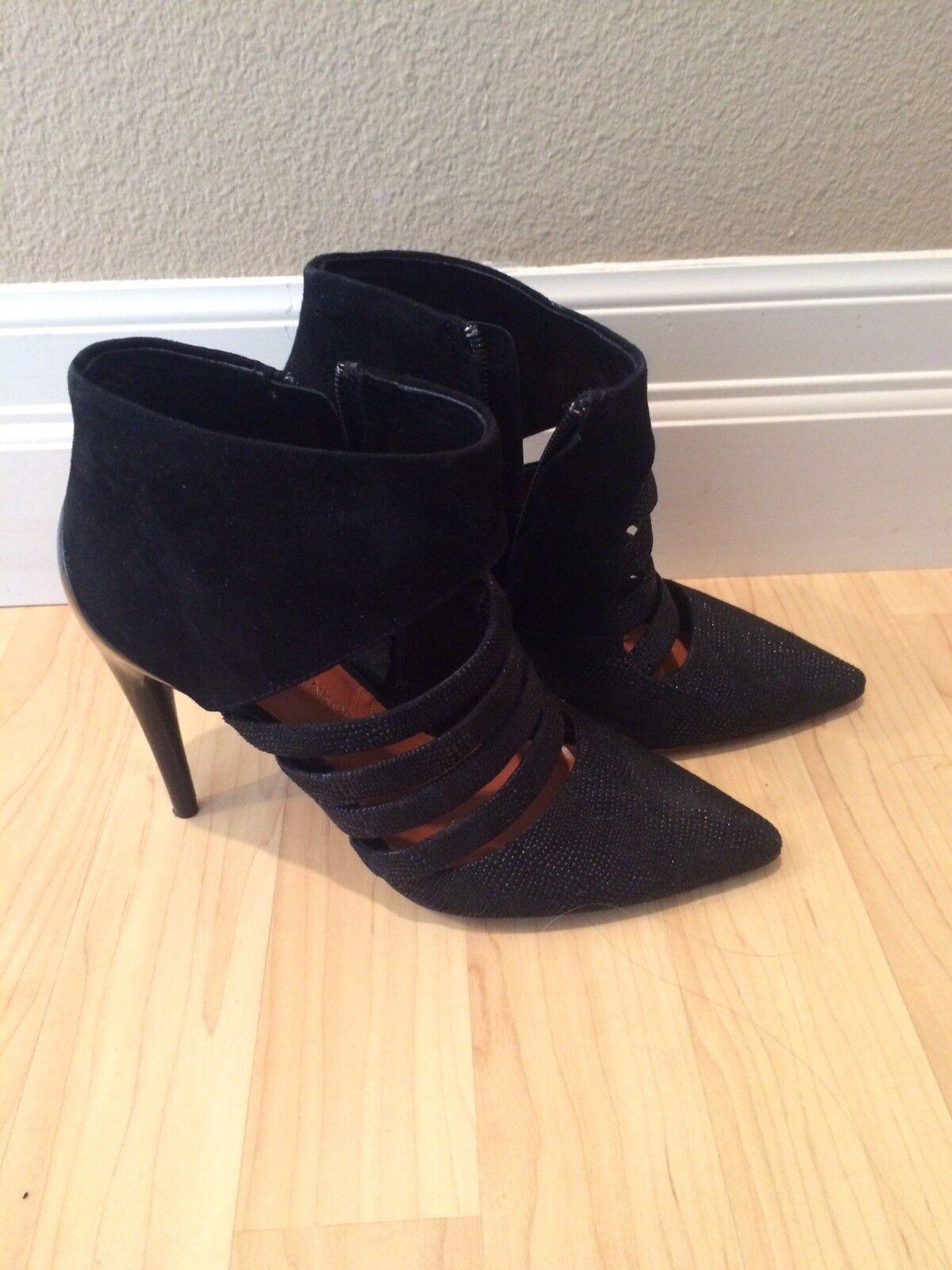 Men's/Women's rebecca minkoff ankle booties 6 Aesthetic appearance Clearance TRUE