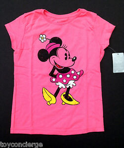 69e5bb691 DISNEY Store TEE for Girls MINNIE MOUSE CLASSIC T SHIRT PINK Choose ...
