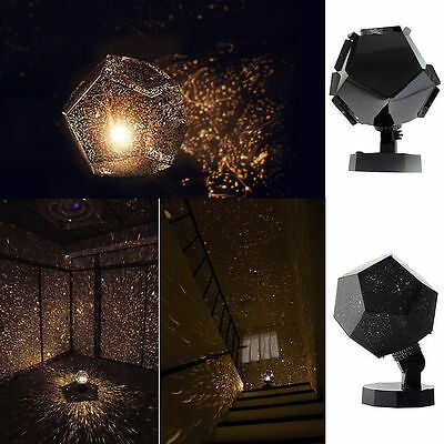 Romantic Astrostar Astro Star Laser Projector Cosmos Light DIY Bulb Lamp Home FS
