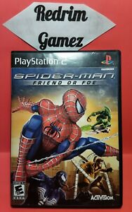 Spiderman Friend Or Foe PS2 Video Games
