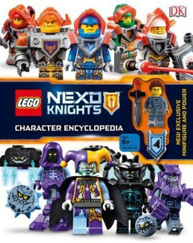 Lego Nexo Knights Character Encyclopedia By Dk For Sale Online Ebay