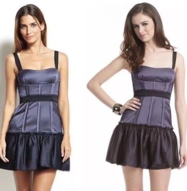 NWT  bcbg maxazria dewberry mia corset dress Sz 10