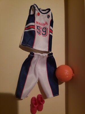 Basketball Sports Barbie Made To Move Career Clothing Outfit Shoes Accessories