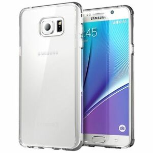 brand new 53054 c4c59 Details about For Samsung Galaxy Note 5 Silicone Transparent Protect Clear  Soft TPU Case Cover