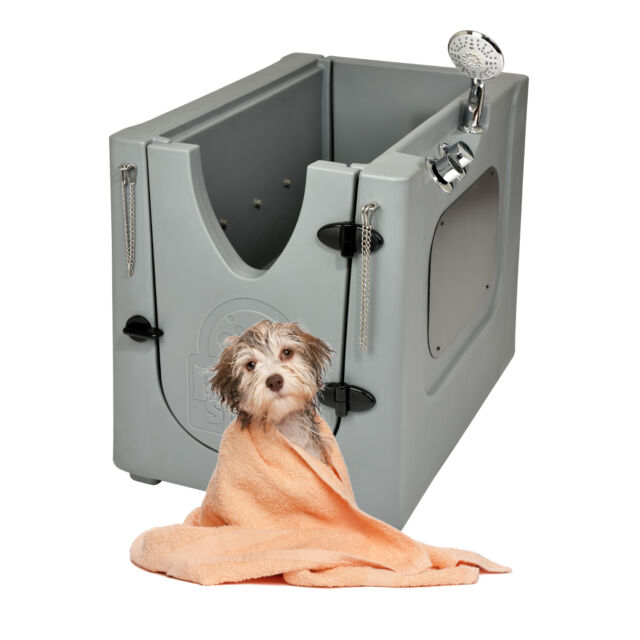 Outdoor Pet Spa Home Mobile Dog Washing Grooming Bath Wash Tub