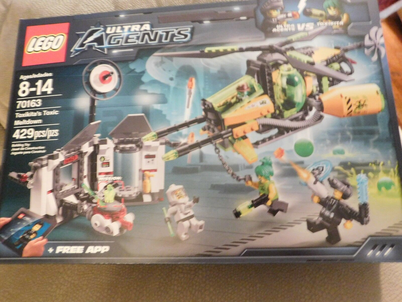 LEGO Ultra Agents Toxikita's Toxic Meltdown 70163 Brand Brand Brand New In Box ca0f3a