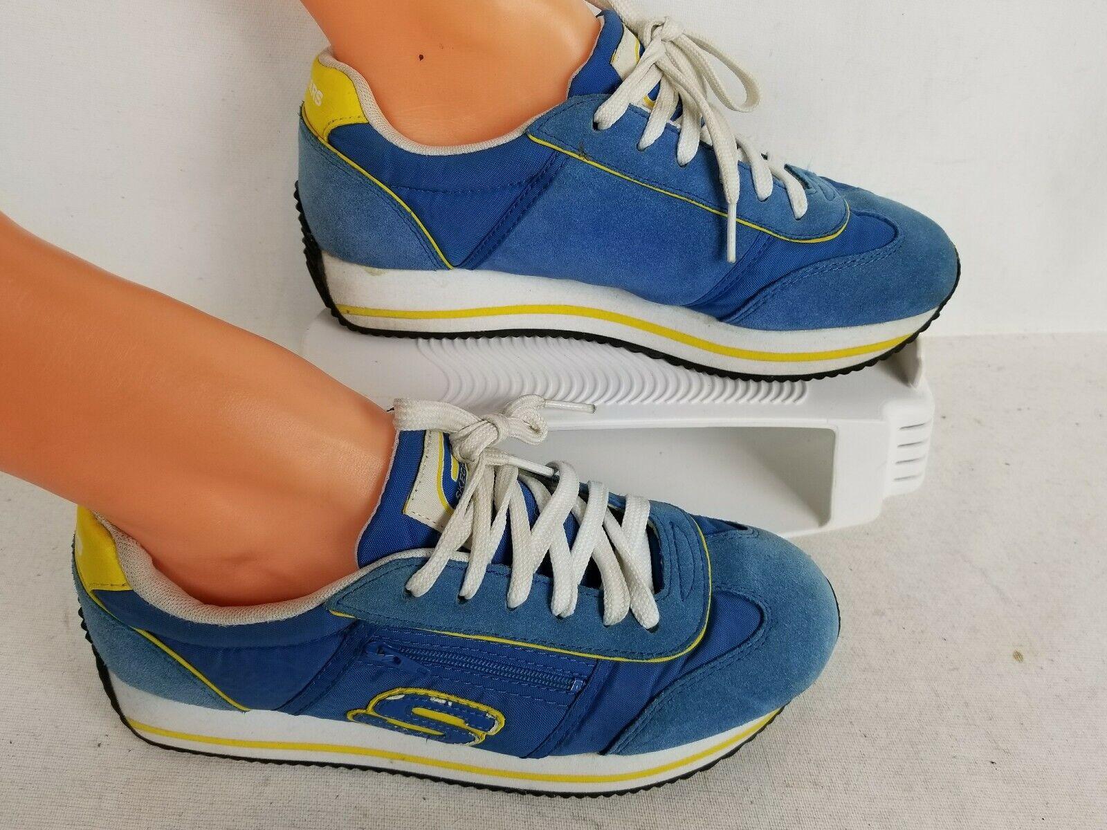 VTG WOMENS SKECHERS  COMFORT blueE WALKING SHOES SIZE 7.5