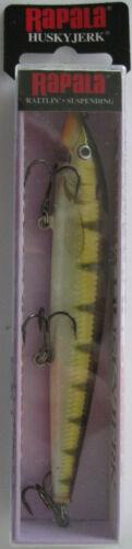 "HJ-12-7//16 oz - 4-3//4/"" RAPALA  Husky Jerk® Yellow Perch"