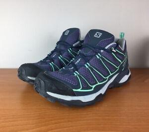 Salomon WOMEN'S Blue X-Ultra Running Trail Sneakers Size 9.5 Indigo/Navy Blue