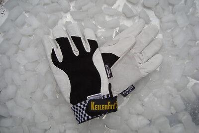2 Paar Arbeits-handschuhe Gr.8,0 Keiler-fit Winter Arbeitskleidung & -schutz