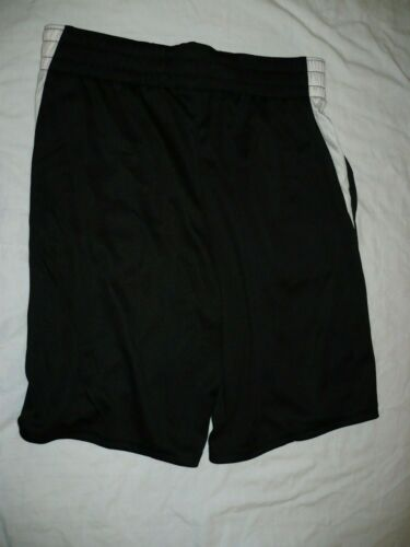 Black W White W Pockets 10-12 Athletic Works Boys Active Mesh Shorts Large