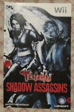 Nintendo Wii - Tenchu Shadow Assassins (Manual only)