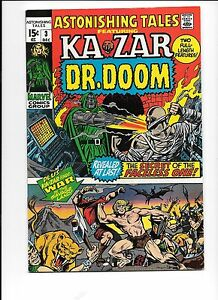 Astonishing-Tales-3-December-1970-Ka-Zar-Dr-Doom
