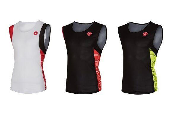 Castelli T. O. AlII Run Top Men's Running triathlonoberteil Breathable - 8616067
