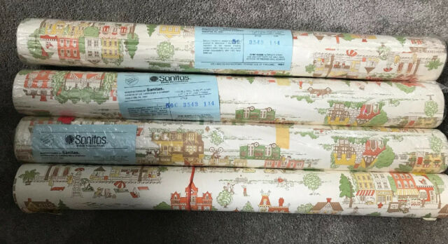 Wallpaper Ready Pasted Vinyl 56 sq ft