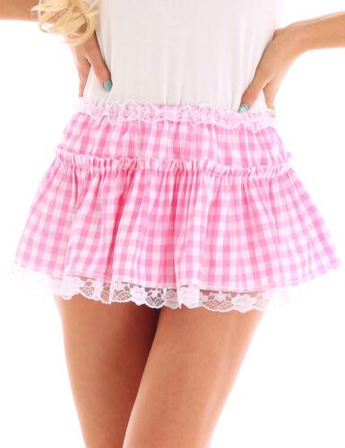 Womens Or Mens Tennis Mini Skirts High Waist Pleated Flared Minidress Costumes