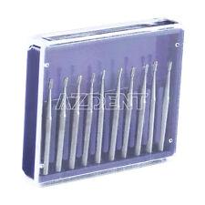 10pcs Dental Carbide Burs Fg330 Pear Shaped High Speed Tungsten Steel Sale
