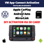miniatura 1 - VW Volkswagen App Connect Activation Apple CarPlay Android Auto PQ ZR SD CARD